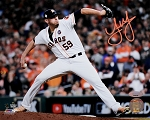 Joe Musgrove Autographed Houston Astros 2017 World Series 8x10 Photo