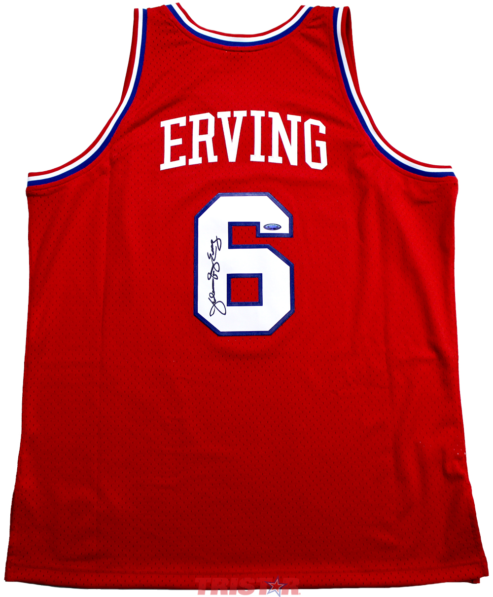 on sale 486e7 b1e3a Julius Erving Autographed Philadelphia 76ers 1982-83 Mitchell & Ness Jersey