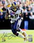Steven Jackson Autographed St. Louis Rams 8x10 Photo