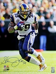 Steven Jackson Autographed St. Louis Rams 16x20 Photo