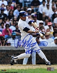 Ryne Sandberg Autographed Chicago Cubs 8x10 Photo Inscribed HOF 05