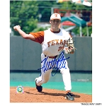 Huston Street Autographed University of Texas Longhorns 8x10 Photo