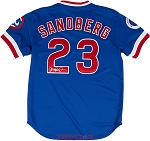 Ryne Sandberg Autographed Chicago Cubs 1984 Mitchell & Ness Authentic Jersey