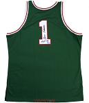 Oscar Robertson Autographed 1970-71 Milwaukee Bucks Jersey Inscribed HOF 79