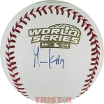Gabe Kapler Autographed 2004 World Series Baseball