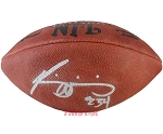 Ricky Williams Autographed Wilson NFL Official Leather Football