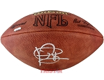 Vince Young Autographed Official NFL Football