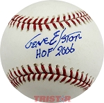 Gene Elston Autographed Official Major League Baseball Inscribed HOF 2006