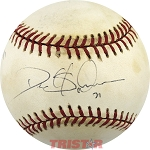 Deion Sanders Autographed Official National League Baseball Inscribed To Jimmy
