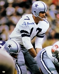 Don Meredith Autographed Dallas Cowboys 16x20 Photo