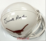 Darrell Royal Autographed University of Texas Mini Helmet