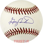 Gary Carter Autographed Official National League Baseball