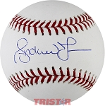 Andruw Jones Autographed Official Baseball