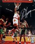 Robert Horry Autographed Houston Rockets 8x10 Photo