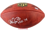Andre Reed Autographed Official NFL Football Inscribed HOF 14