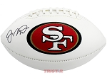 Joe Montana Autographed San Francisco 49ers Football