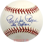 Pee Wee Reese Autographed Official NL Baseball Inscribed The 'Captain'