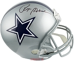 Roger Staubach Autographed Cowboys Full Size Replica Helmet