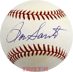 Ron Santo Autographed Official National League Baseball