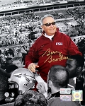 Bobby Bowden Autographed Florida State Seminoles 8x10 Photo
