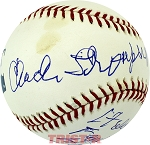 Chuck Thompson Autographed Baseball Inscribed Hall of Famer HOF 93