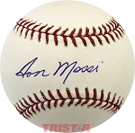 Don Mossi Autographed Official Major League Baseball
