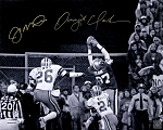 Joe Montana & Dwight Clark Autographed San Francisco 49ers 'The Catch' 16x20 Photo