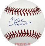 Chuck Knoblauch Autographed Official Major League Baseball Inscribed 91 AL ROY