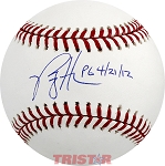 Philip Humber Autographed Official Major League Baseball Inscribed PG 4/21/12
