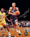Matt Bullard Autographed Houston Rockets 8x10 Photo
