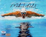 Michael Phelps Autographed 8x10 Photo