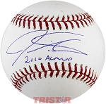 Josh Hamilton Autographed Official Baseball Inscribed 2010 AL MVP