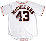 Lance McCullers Jr. Autographed Houston Astros White Majestic Replica Jersey