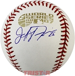Jeff Francis Autographed 2007 World Series Baseball