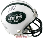 Dustin Keller Autographed New York Jets Mini Helmet
