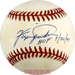 Fergie Jenkins Autographed National League Baseball Inscribed HOF 7/21/91