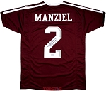 Johnny Manziel Autographed Texas A&M Custom Maroon Jersey