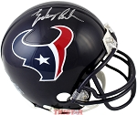 Zach Cunningham Autographed Houston Texans Replica Mini Helmet