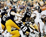 Joe Greene Autographed Pittsburgh Steelers 16x20 Photo Inscribed HOF 87