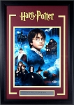 Daniel Radcliffe Autographed 'Harry Potter' 11x14 Photo Framed
