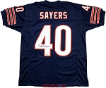 Gale Sayers Autographed Chicago Bears Custom Jersey