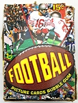 1977 Topps Football Unopened Wax Box BBCE Carson Largent Selmon Rookie