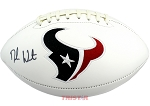 Deshaun Watson Autographed Houston Texans Football
