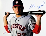 Jose Altuve Autographed Houston Astros Portrait 8x10 Photo