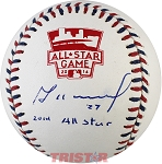 Jose Altuve Autographed 2014 All-Star Game Baseball Inscribed 2014 All Star
