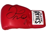 Floyd Mayweather Autographed Cleto Reyes Red Boxing Glove