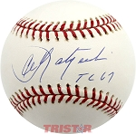 Carl Yastrzemski Autographed Official Major League Baseball Inscribed TC 67