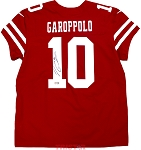 Jimmy Garoppolo Autographed San Francisco 49ers Nike 'Elite' Red Jersey