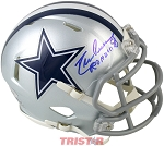 Drew Pearson Autographed Dallas Cowboys Mini Helmet Inscribed ROH 2011
