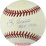 Yogi Berra Autographed American League Baseball Inscribed HOF 1972